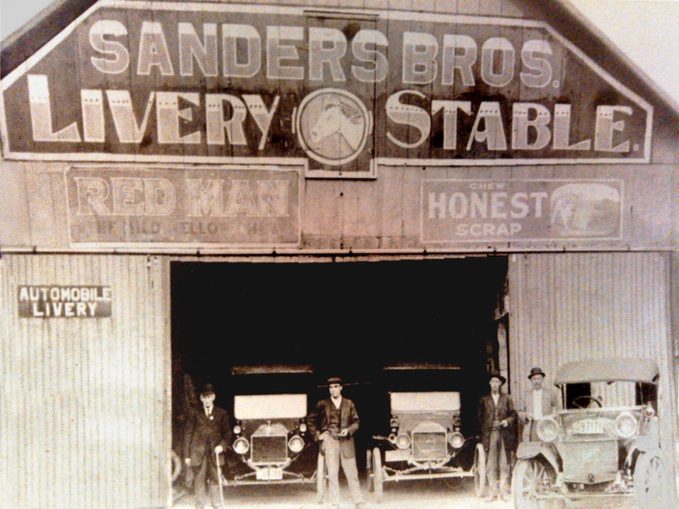 Sanders Bros Coffee Model T